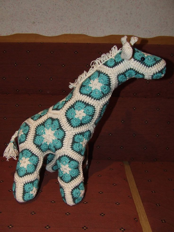 Jedi, de giraffe van Heidi Bears