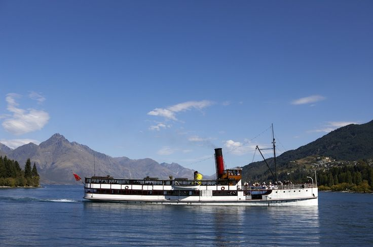 Trovolo - Queenstown #travel #NewZealand #photography #NZ #fun #outdoors #nature #queenstown #otago #steamship #ship #lake TSS Earnslaw