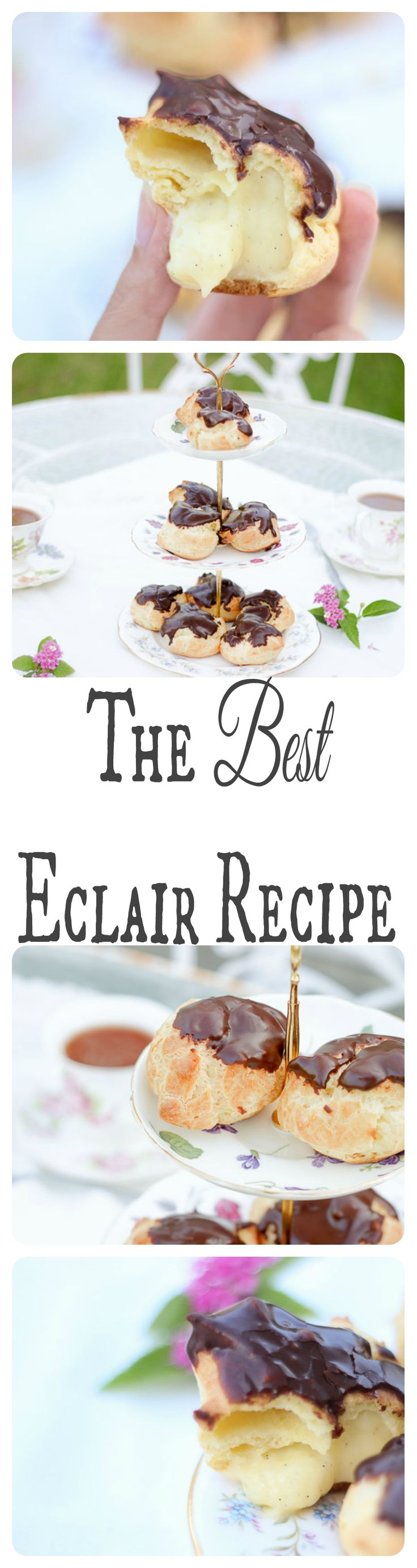 The most delectable eclairs of my life and the best custard pastry cream ever! And actually fool-proof!