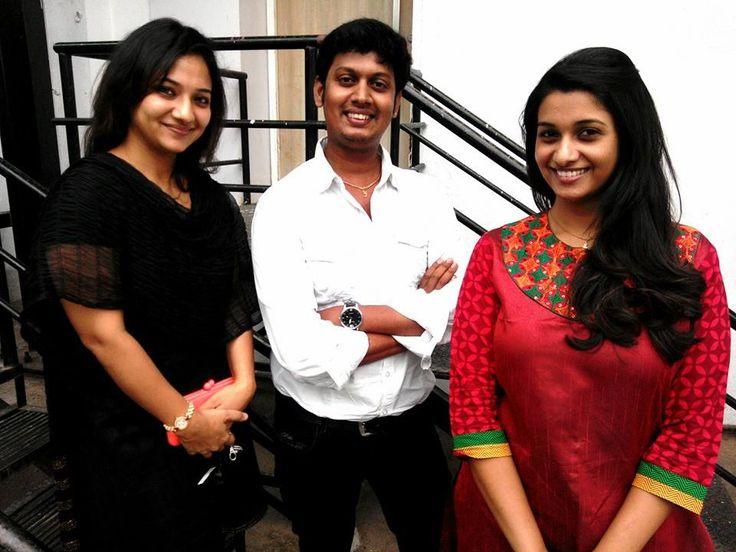 Priya Bhavani Shankar With her Colleague