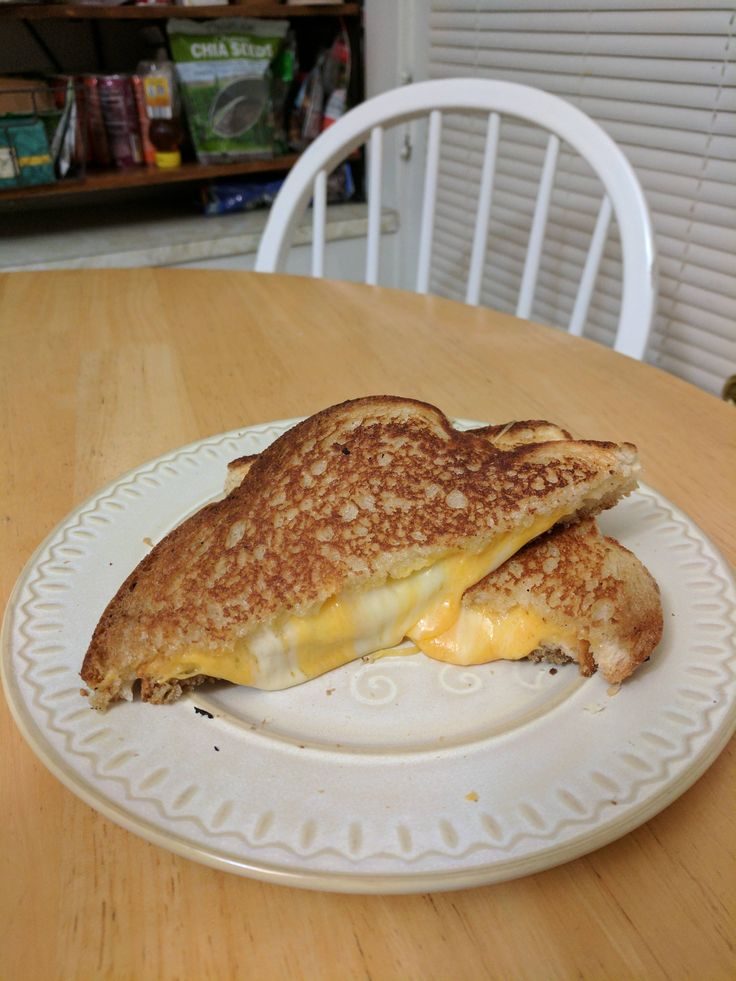 Sharp cheddar havarti and colby jack on English toasting bread #grilledcheese #food #yum #foodporn #cheese #sandwich #recipe #lunch #foodie