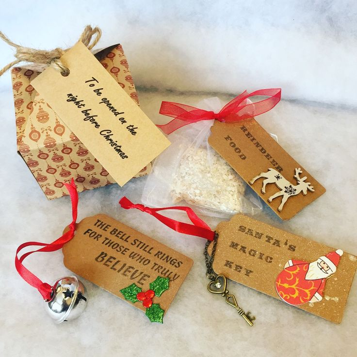 Cute little ready made Christmas Eve box - lovely gift for any age