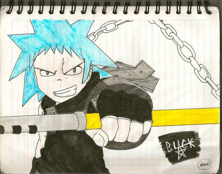 Black Star by Hikarol-chan on DeviantArt