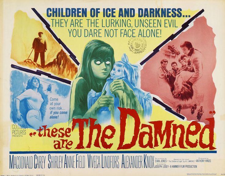 [15] ... Un film de science-fiction politique, inhabituel dans la production Hammer, sous l'égide de Joseph Losey (The servant ; Le messager...)...
