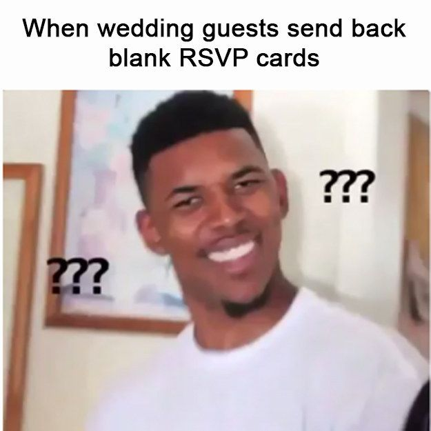 There's a special place in hell for people who don't RSVP and show up anyway.