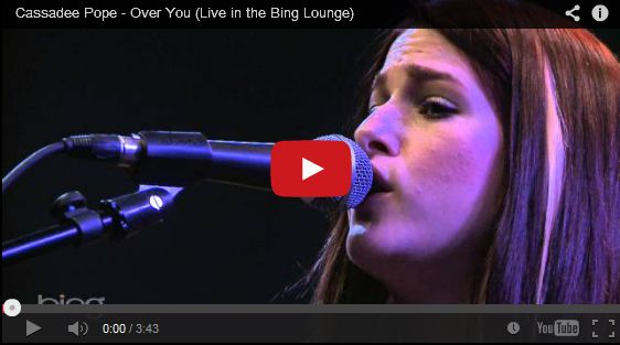 Watch: Cassadee Pope - Over You See lyrics here: http://cassadeepopelyrics.blogspot.com/2014/03/over-you-lyrics-cassadee-pope.html #lyricsdome
