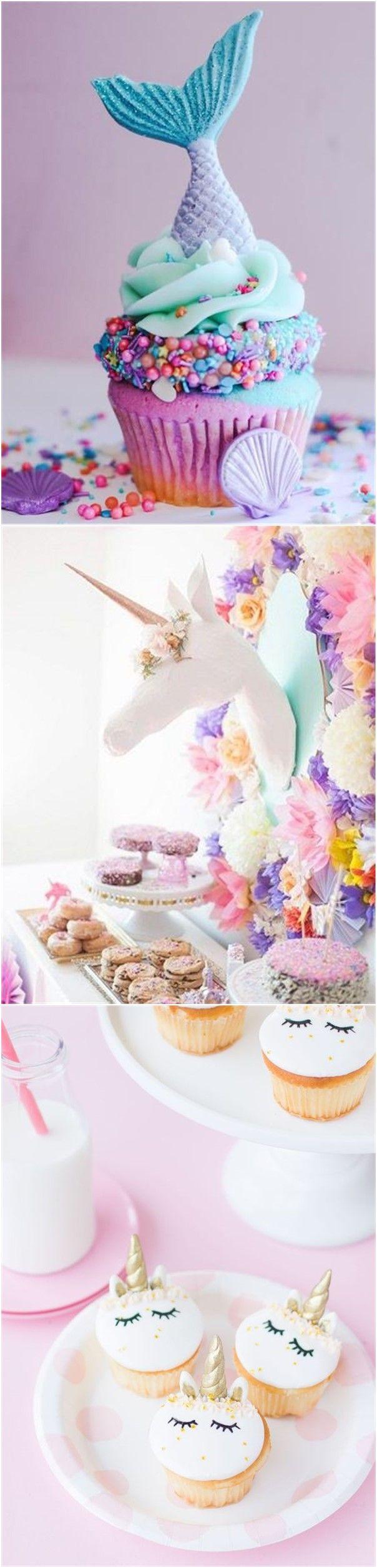 Bridal Shower » 23 Unicorn Bridal Shower Party Ideas » ❤️ See more: http://www.weddinginclude.com/2017/07/unicorn-bridal-shower-party-ideas/