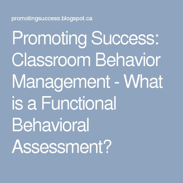 19 best Functional behavior assessment images on Pinterest - functional behavior assessment