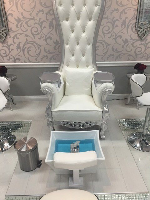 The wash/soak the pedicure bowls with barbicide after each client