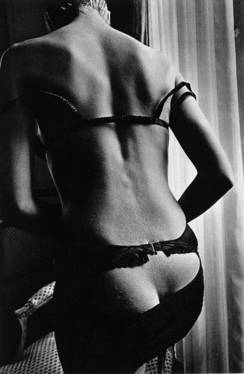 Jeanloup Sieff, Unwillingly Provocative Woman, Paris, 1978