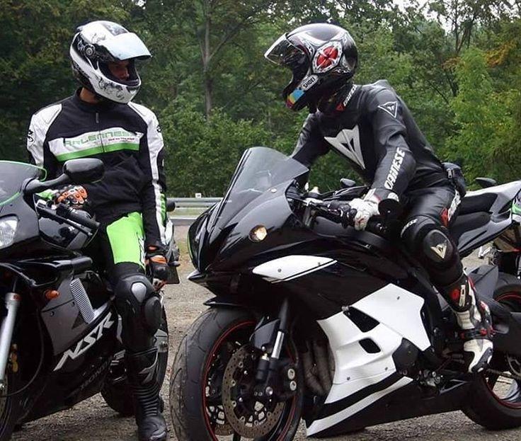#Biker #Motorradfahrer #Sportfahrräder #Superbike #Lederkombi    – Dreambikes -…