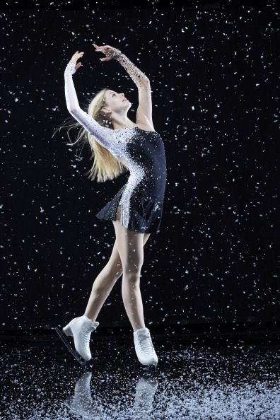 Gracie Gold..my daughter & I couldn't figure out why we knew the name & face. turns out Gracie and her sister started skating in Springfield, MO. where my daughter also took lessons!!!