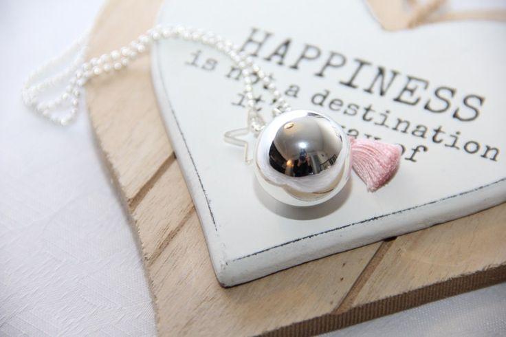 Happiness is not a destination. It is the journey! Schwangerschaftsbola / Elfenklangkugel und Engelrufer von The Good Karma Shop