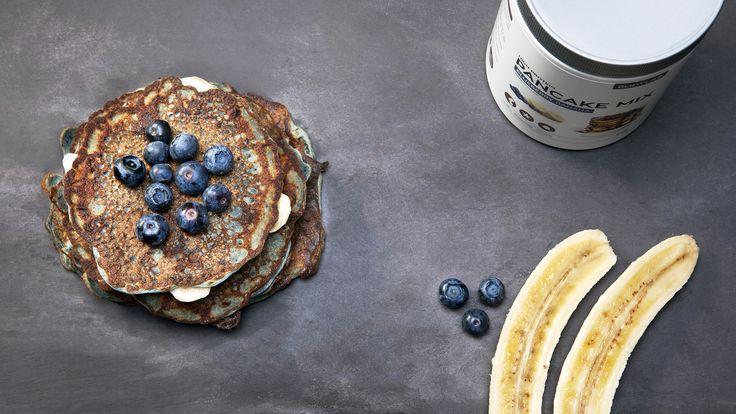 Blåbær/banan Pancake Mix