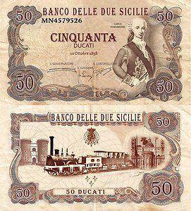 Sicilian paper money