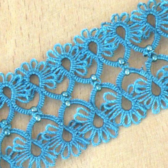 Turkish OYA Lace  Bracelet  WLace Light Colores  5colors