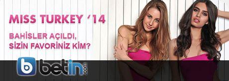Betin Miss Turkey 2014 Özel Bahisleri