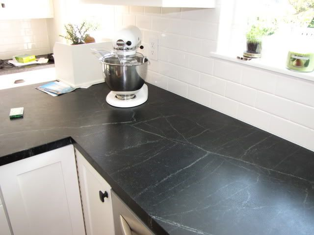 Soapstone Tile Countertops : Best soapstone counters ideas on pinterest dark