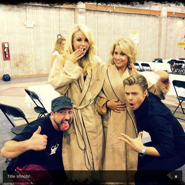 derek hough instagram | First Look – Derek Hough and Shawn Johnson