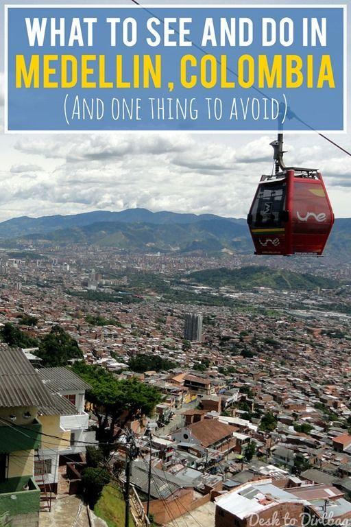 The Definitive Guide of Things to See and Do in Medellin http://www.desktodirtbag.com/things-to-do-in-medellin-colombia/