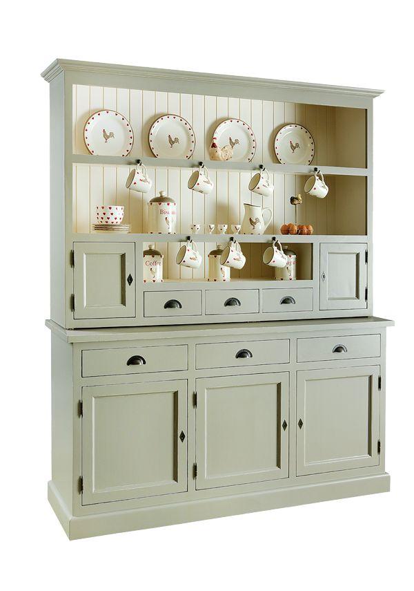 loving this Amberwood Kitchen Dresser from amberwood ie so pretty