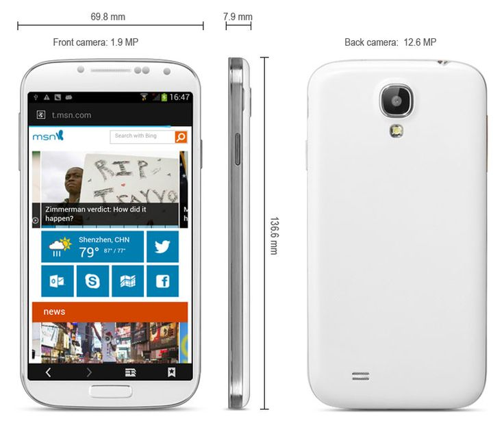 This phone will only work with GSM+WCDMA network Network frequency: GSM 850/900/1800/1900MHz WCDMA 2100MHz Unlocked for Worldwide use, please check if your local area network is compatible with this phone.  Main Features: Type: 3G Phablet Color: White OS: Android 4.2.1 CPU: MTK6589 Cortex... Click on Picture to go to Store