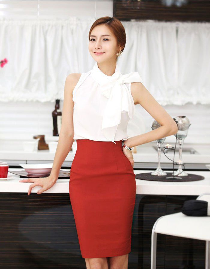 Free-shipping-New-Arrival-vintage-style-lady-High-Waist-Pencil-skirt-women-summer-dress-lady-OL.jpg (700×897)