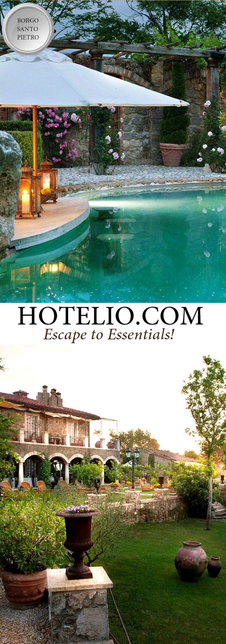 Borgo Santo Pietro    Italy - Tuscany    The hotel has very…