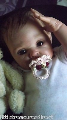 "Amazing/Fake Reborn baby doll by ""Audrie Stoete"" Suzi kit.~~Must have a look"