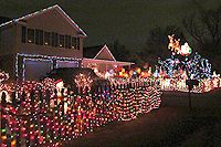 Christmas Lights in NOVA ~ Holly's Tacky Christmas Lights