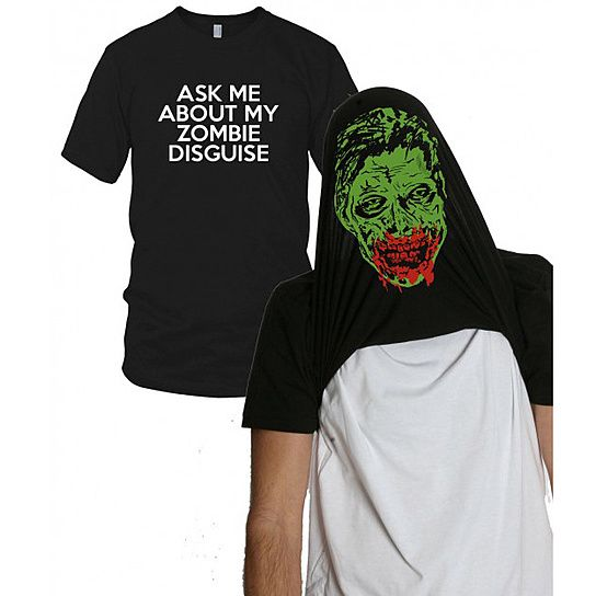Ask me about my Zombie T Shirt from CrazyDogTshirts on OpenSky
