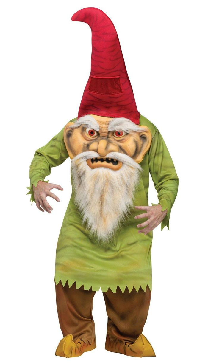 Big Head Evil Gnome Adult Costume from Buycostumes.com