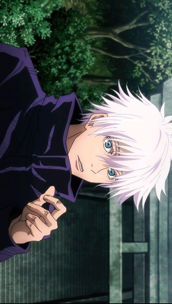 Gojo Satoru Jjk Episode 20 In 2021 Anime Anime Wallpaper Cute Anime Boy