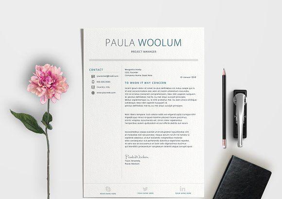 Resume CV | A4 + US Letter  @creativework247