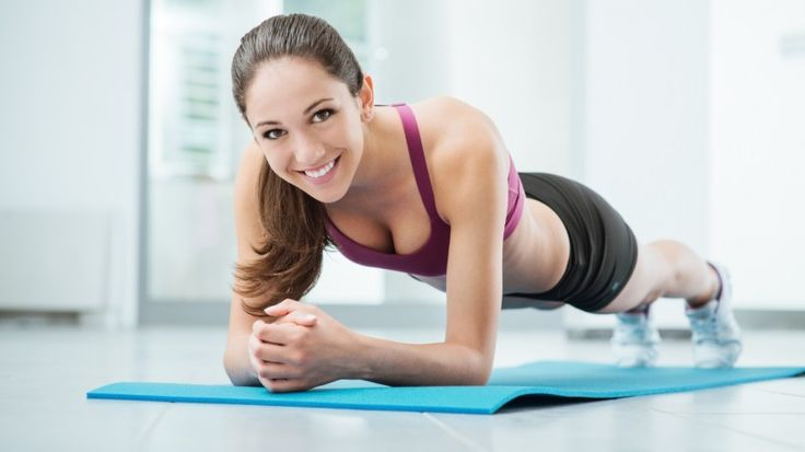 Как похудеть весной: польза и техника выполнения упражнения планка