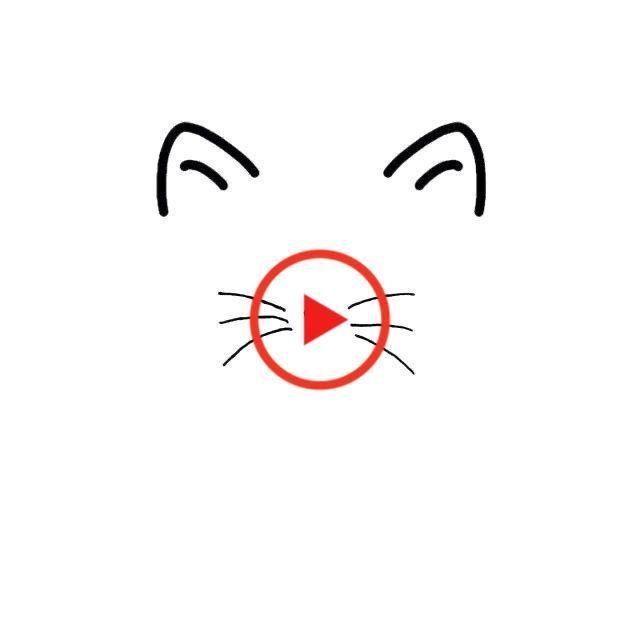Cat Face Cat Heart Nose Svg Png Jpg Cricut Silhouette Feline Cat Mom Cat Lover Cats Cat Face Cat Mom Cricut