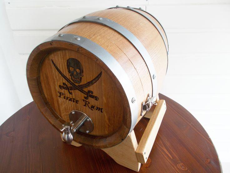 1638 - Serigrafia pirata su #botti bag in box per utilizzo in #pub, #bar, #ristoranti e #cantine - Briganti srl