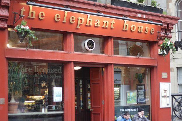 The Elephant House: Edinburgh, Scotland | 13 UK Destinations With Amazing Backstories