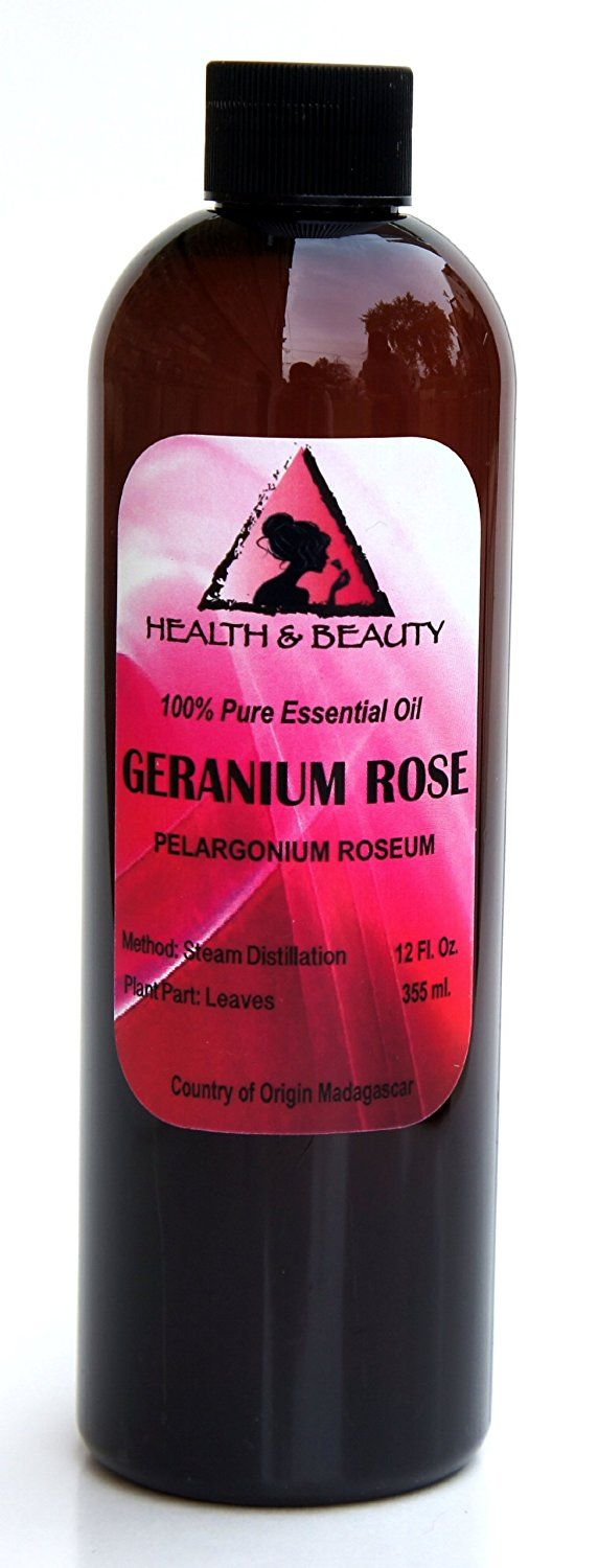 Geranium Rose Essential Oil Aromatherapy 100% Pure 12 oz > Discover this special product, click the image : rose essential oil