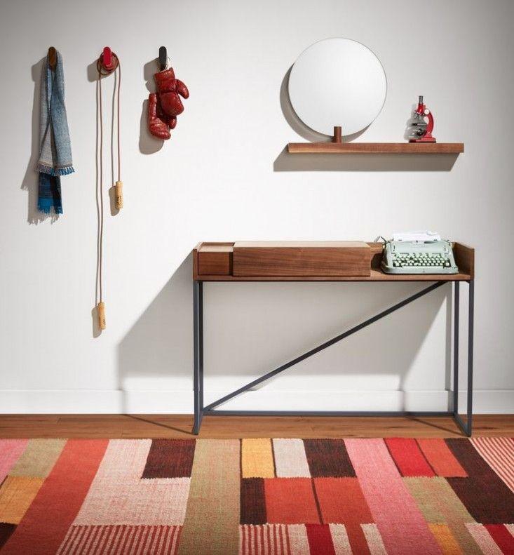Block-patterned geometric rug, the Charlie Rug from Blu Dot | Remodelista
