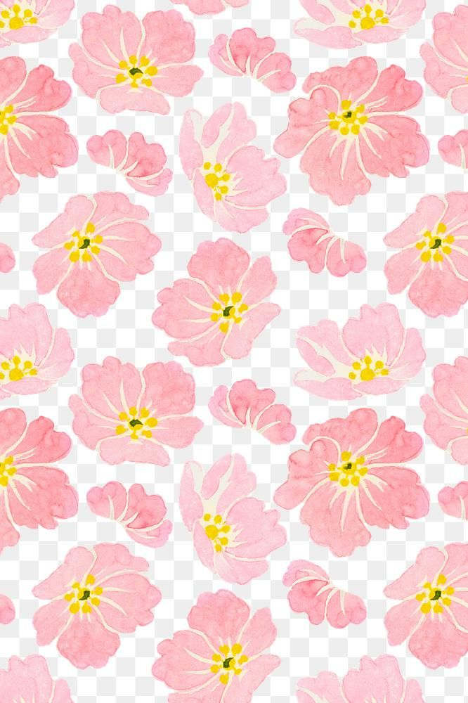 Png Pastel Wild Rose Pattern Transparent Background Premium Image By Rawpixel Com Manota In 2020 Pink Pattern Background Background Patterns Free Background Images