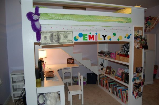 Sophisticated Loft Bed