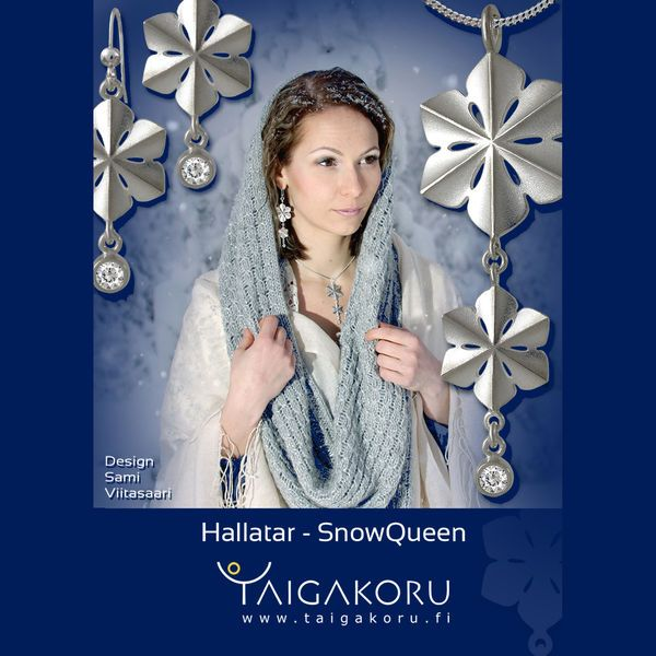 Snowqueen, jewelry, jewellery. Design Sami Viitasaari