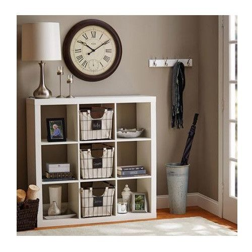 9 Cube Storage Unit Product Description: This versatile 9 cube storage bookcase display unit can be used for multiple storage solutions. This bookcase display unit can also be used as a toy box organi                                                                                                                                                                                 More
