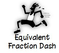 Math Coach's Corner: Equivalent Fraction Dash card game