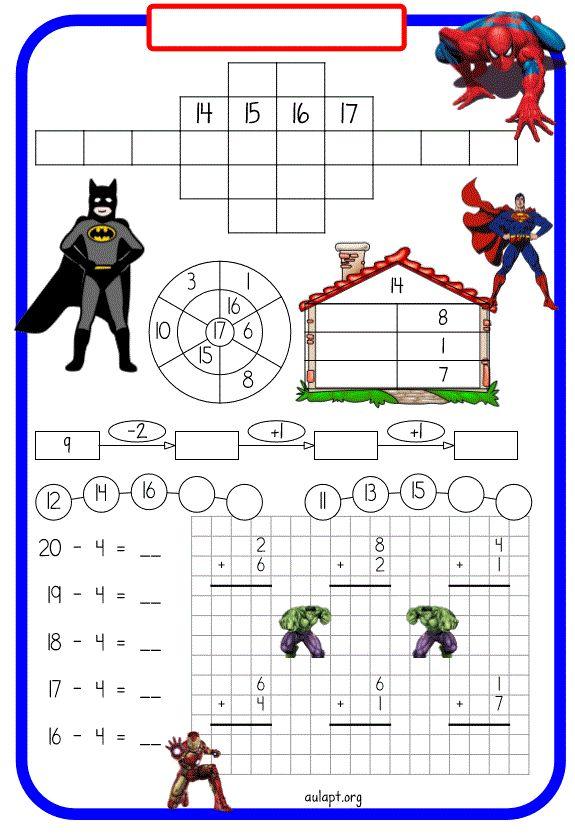 Comparto los 3 últimos modelos de fichas para trabajar a forma de rutina la numeración y el cálculo a nivel inicial. Los 3 nuevos modelos,