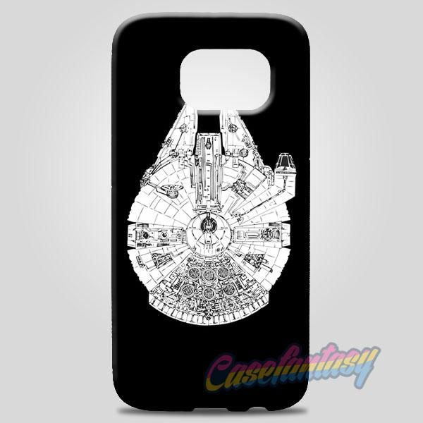 Millenium Falcon Star Wars Samsung Galaxy Note 8 Case Case | casefantasy