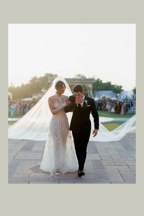 Priyanka Chopra Nick Jonas Hochzeit Brautkleider Glamour