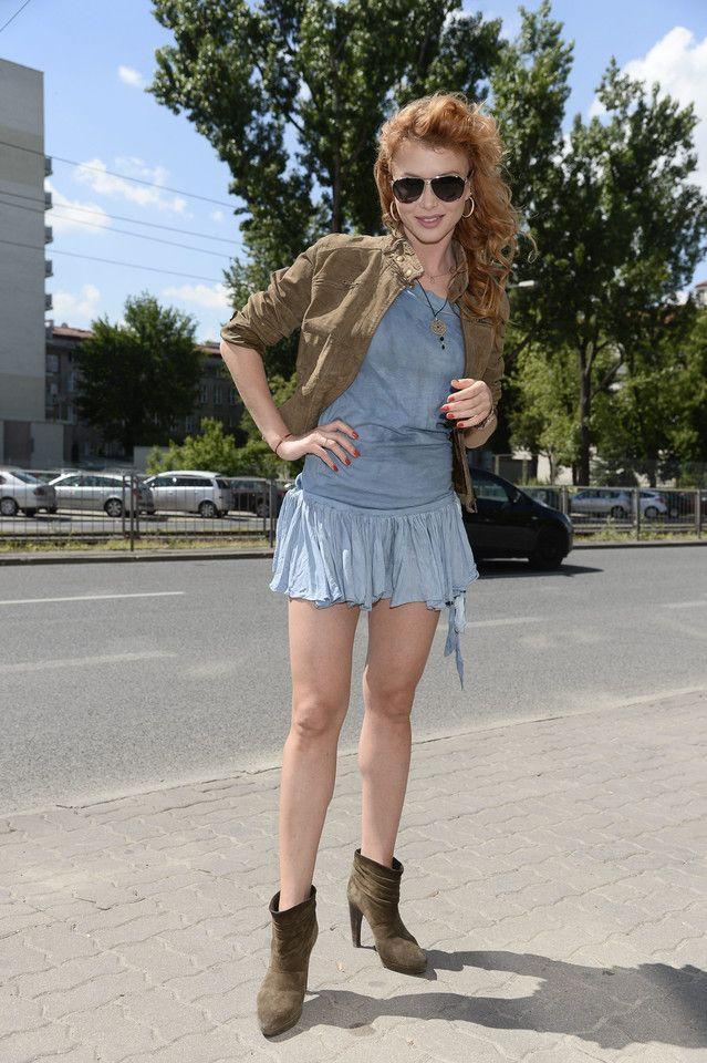 Agata Załęcka przywitała już 2017 rok