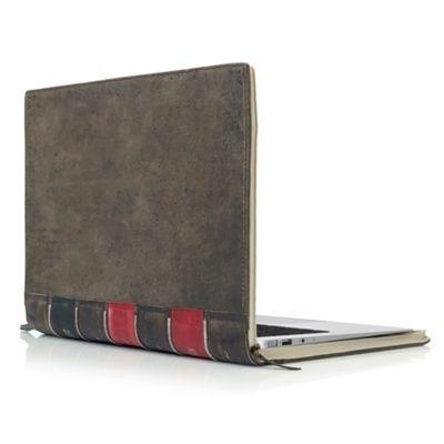 "13"" BookBook Hardback Leather Case #luvocracy #design #mac"